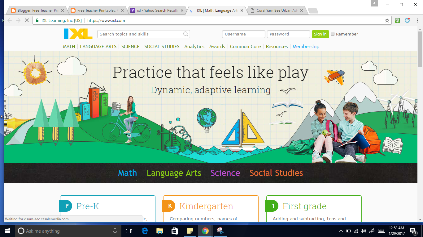 IXL Math Website | Free Teacher Printables, Worksheets ...