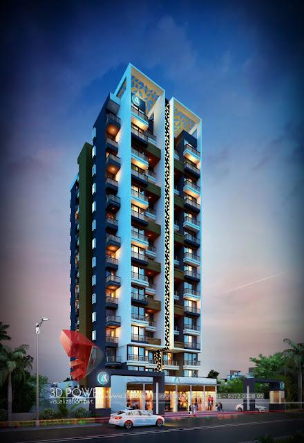 Latest Apartment Design Rendering