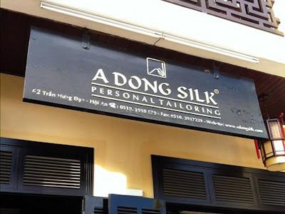 A Dong Silk Tailors - Hoi An