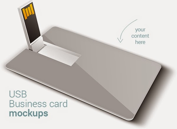 Free Usb Business Card Mock Up Printriver 169