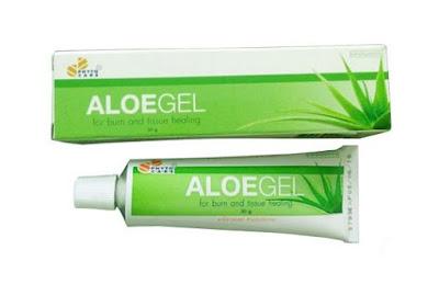 เจลว่านหางจระเข้ Aloegel องค์การเภสัช