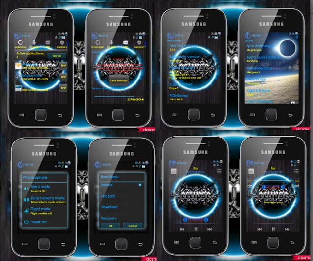Download Custom Rom EclipsE untuk Galaxy Y GT S5360