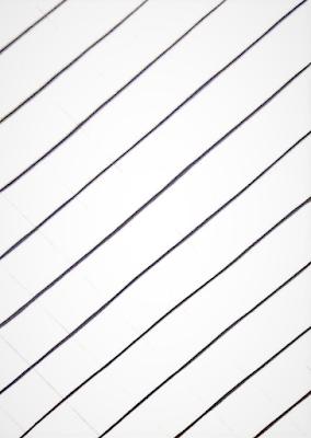 Crisscross mandala drawing lines