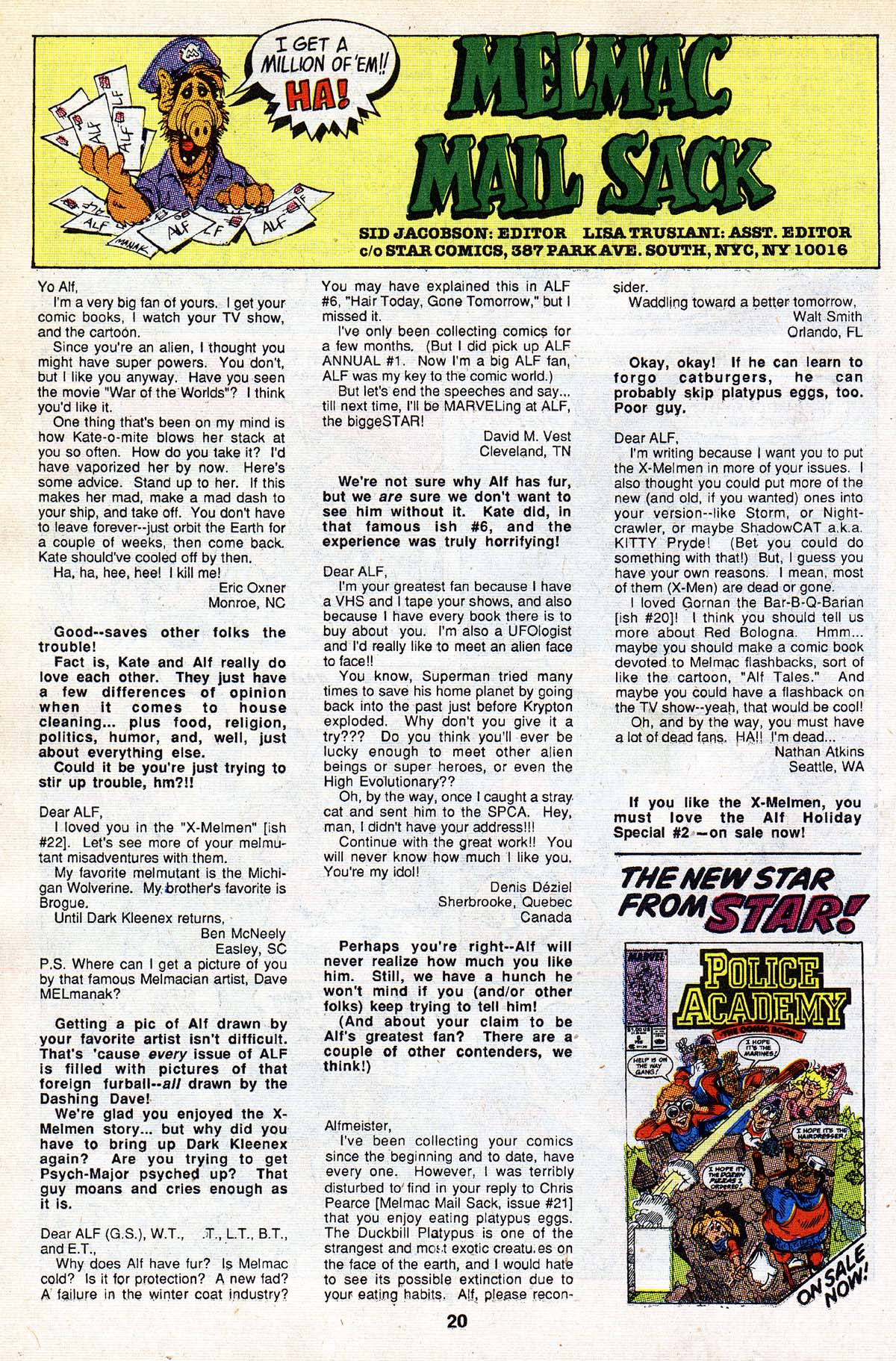 Read online ALF comic -  Issue #26 - 17