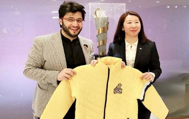 PSL 2019 between TCL and Peshawar Zalmai agree to sign a partnership agreement