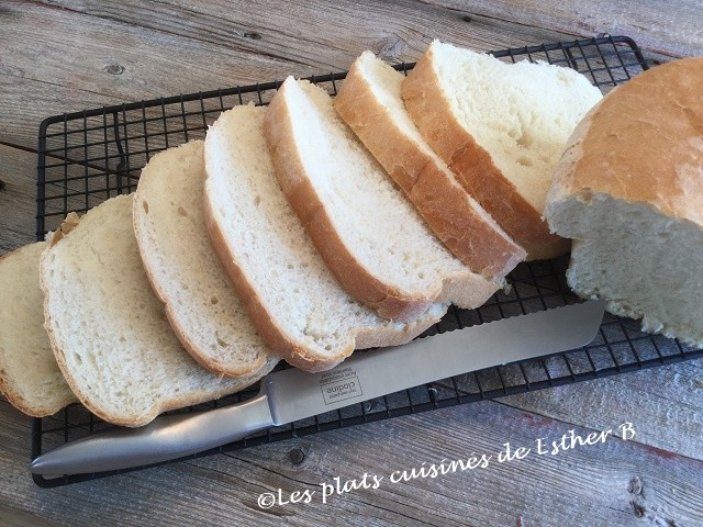 Les Plats Cuisinés De Esther B Pain Blanc Maison