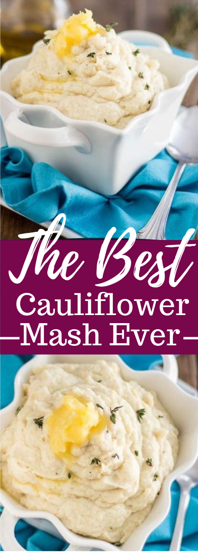 THE BEST CAULIFLOWER MASH EVER #healthyrecipe #keto