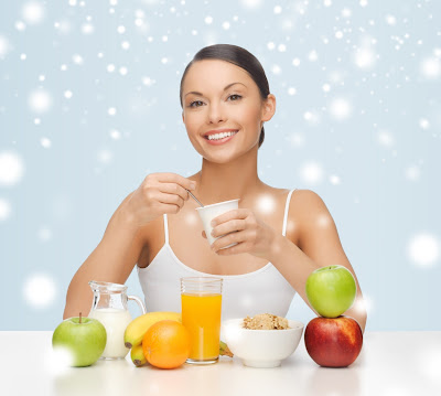 Using healthy diet to look young and beautiful