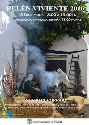 Belén Viviente de Vejer (Cádiz) 2016