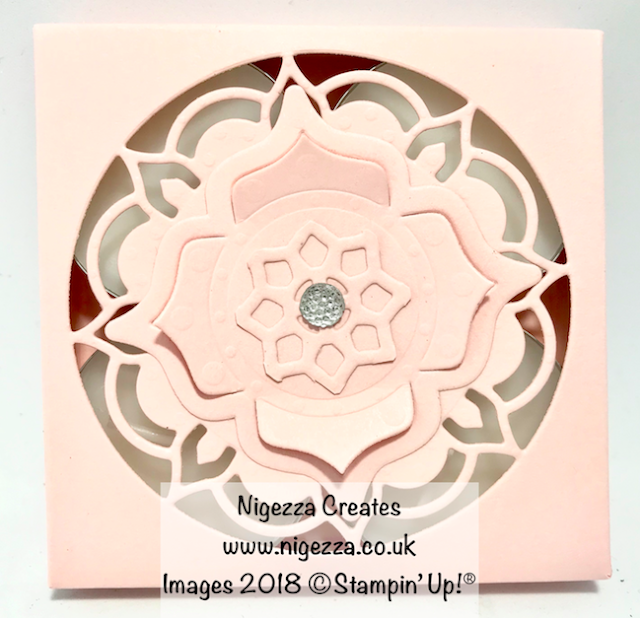 Craft fair ideas: Tea Light Gift Box Using Eastern Medallions Nigezza Creates