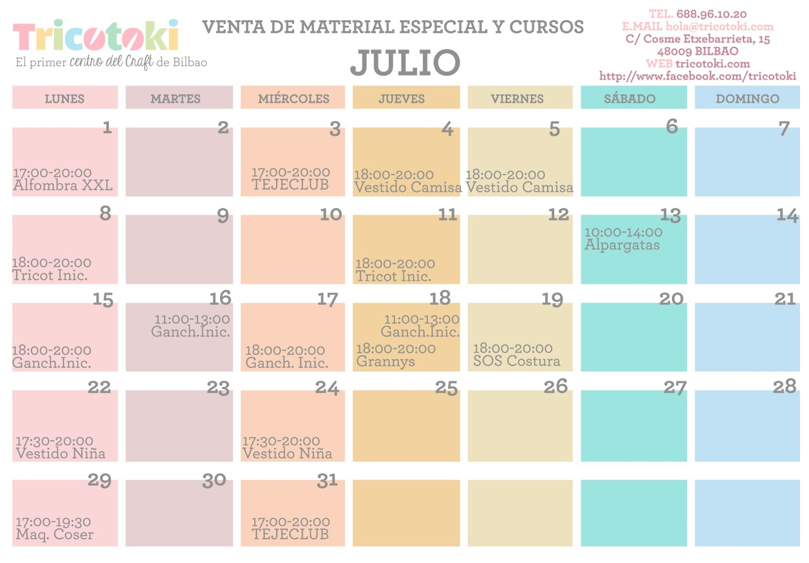 Calendario Julio 2019 Mr Wonderful.La Krafteria De Corazon Julio 2013