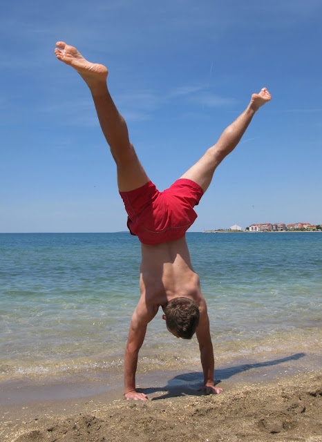 shiv sangal, gymnastics, blogging