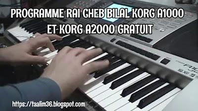 Télécharger Programme Rai cheb bilal Korg A1000 et A2000 Original Gratuit
