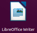 LibreOffice Writer icono