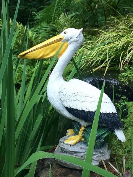 Pelican Garden Statue