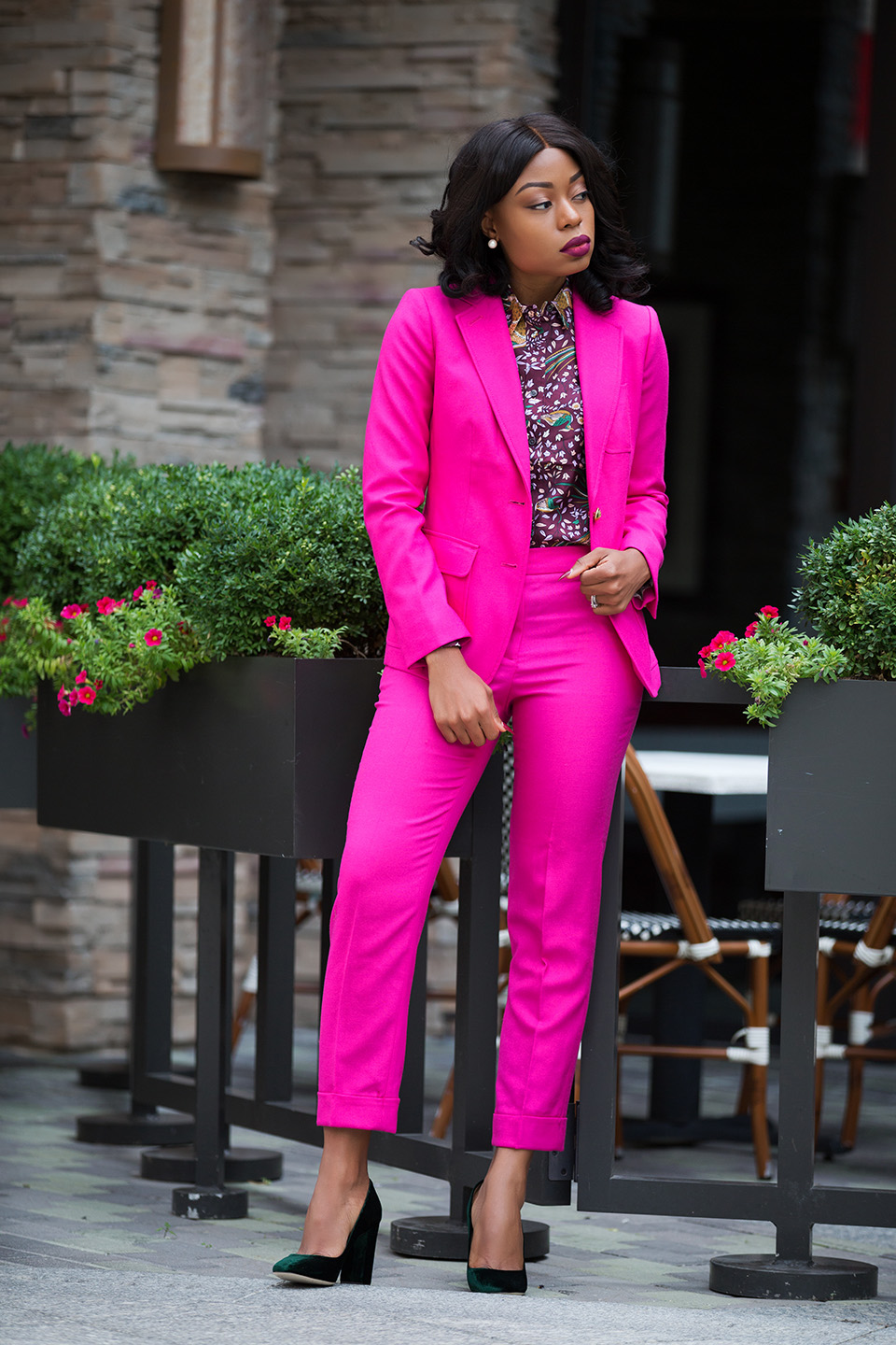jcrew pink suit, www.jadore-fashion.com