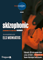 Concierto de Skizophonic y Els Moniatos en el Teatre Municipal de Benicàssim