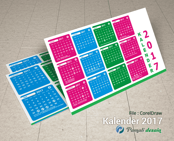 download gratis Kalender 2017