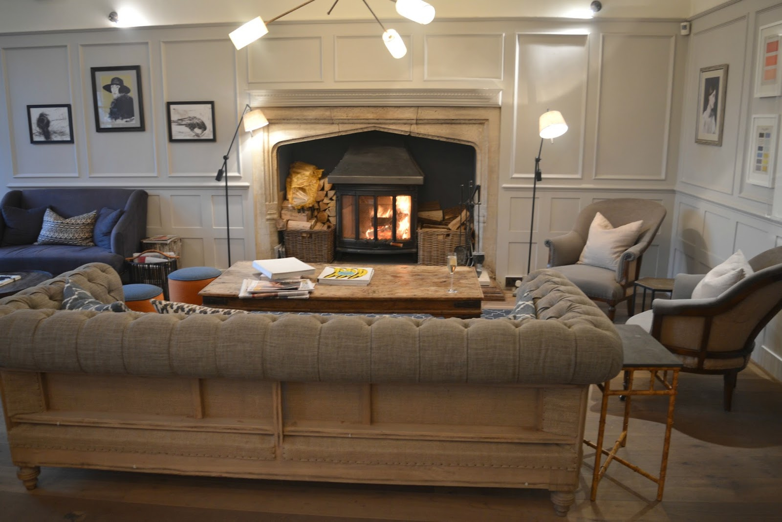 Cosy Hotel in the Cotswolds - The Painswick Fireside