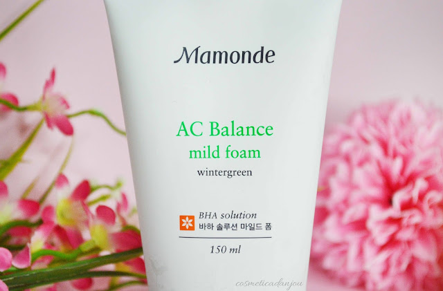 Mamonde AC Balance Mild Foam review