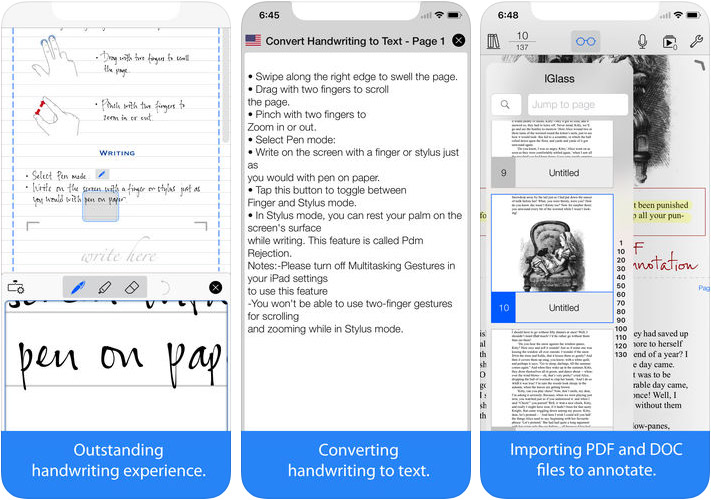Top 10 Handwriting Apps For iPhone and iPad 2019 / Digital