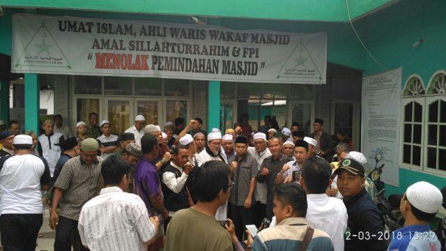 Terancam Digusur, Ustadz Tengku Zulkarnain: Masjid Sukaramai bukan pedagang kali lima