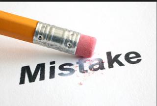 kesalahan blogger baru saat menulis artikel