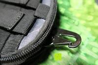 Haken: Greatlizard Außen multifunktionale Nylon taktische Tasche stark und dauerhaft im Freien Armee taktische Taschen (schwarz Python-Muster)