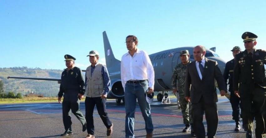 Presidente Martín Vizcarra supervisará obras en colegio e inspeccionará construcción de puente en Cajamarca