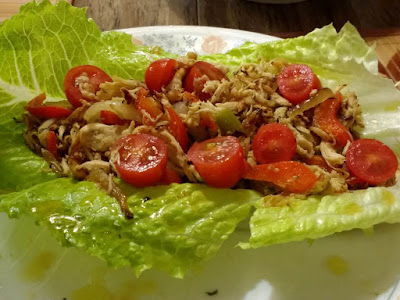 Lettuce Wraps with Chicken and Stevia Ginger Syrup (Paleo, Gluten-free,Whole30, Grain-free, Keto).jpg