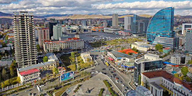 Image Attribute: View of Ulaanbaatar with the Blue Sky Tower / Photograph by Zazaa Mongolia / Source: Wikimedia Commons