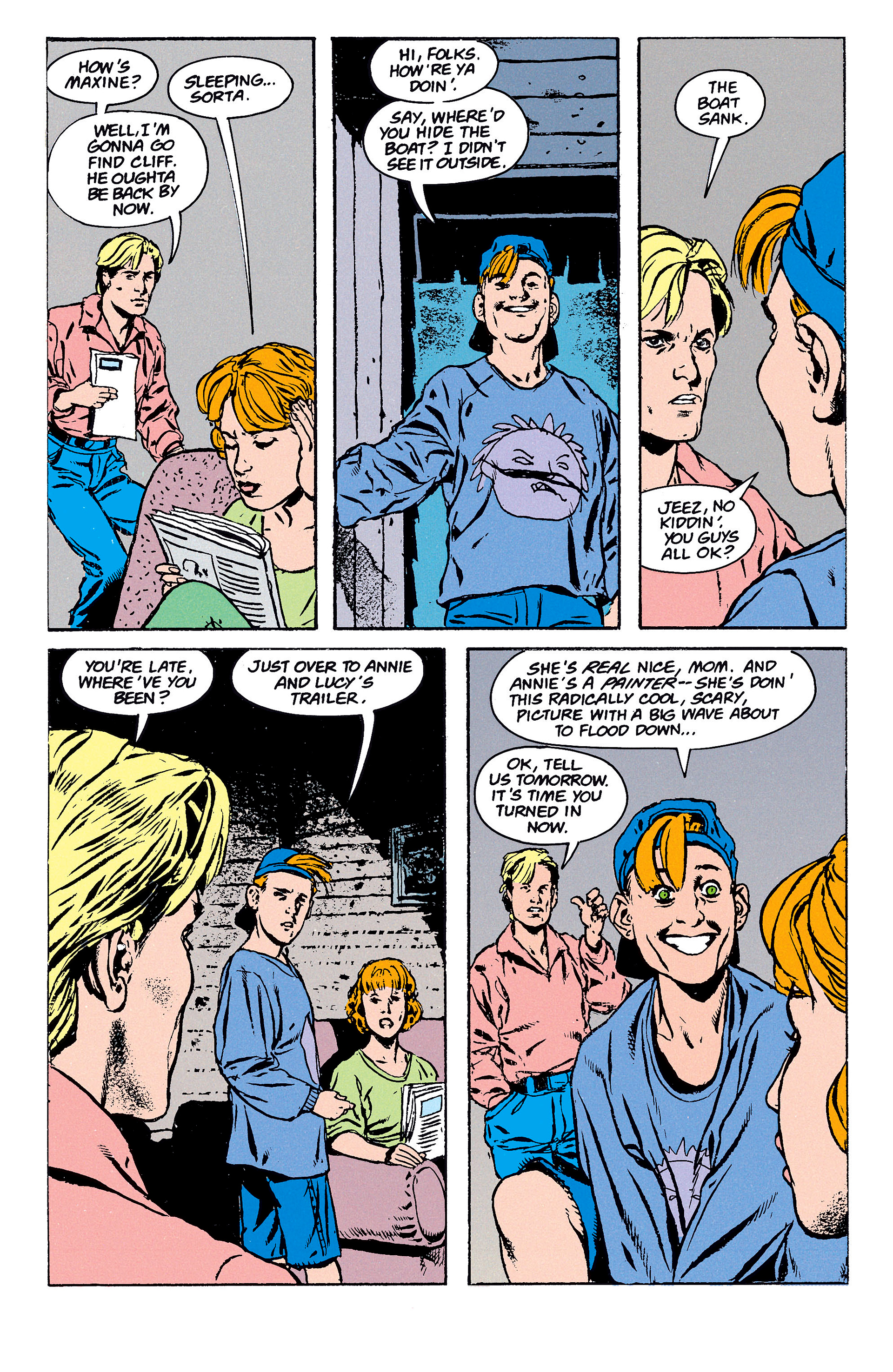Read online Animal Man (1988) comic -  Issue #62 - 15