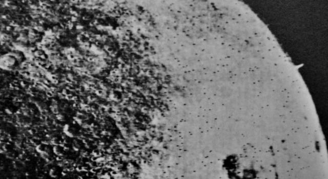 The Tower On The Far Side Of The Moon Found By Soviet Spacecraft Zond 3