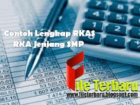 Contoh Lengkap RKAS RKA Jenjang SMP