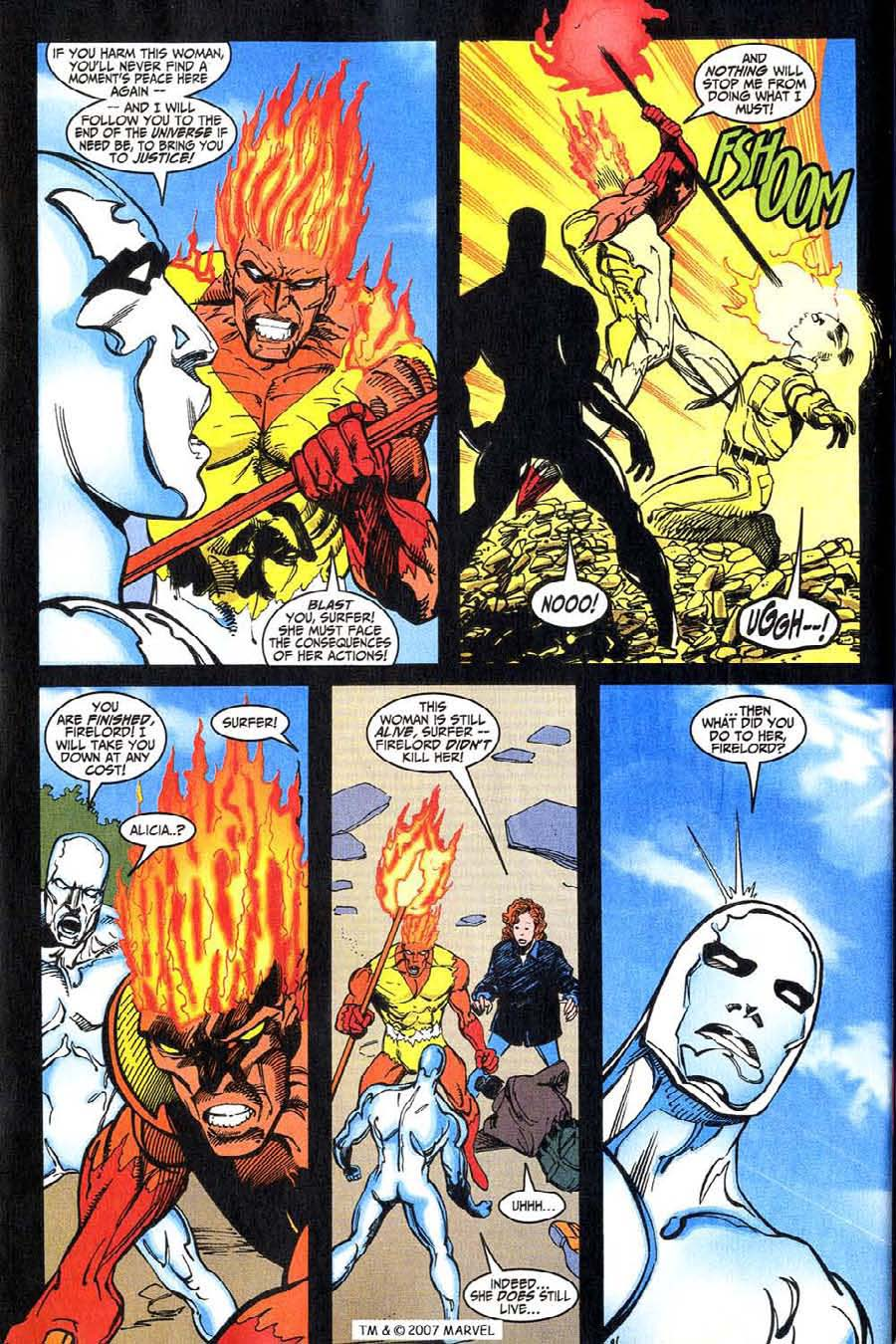 Read online Silver Surfer (1987) comic -  Issue #146 - 32