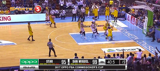 San Miguel def. Star Hotshots, 103-97 (REPLAY VIDEO) April 16