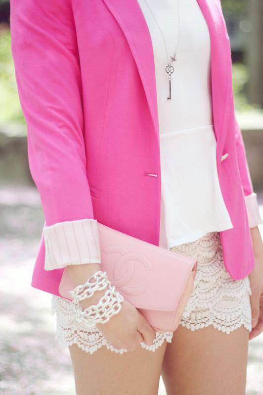 f0bac0d4ddb Pink Me Up.   Blazer  Zara ...