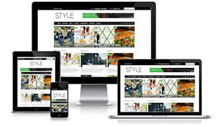 SALE Style – Creativemarket Magazine Blogger Template