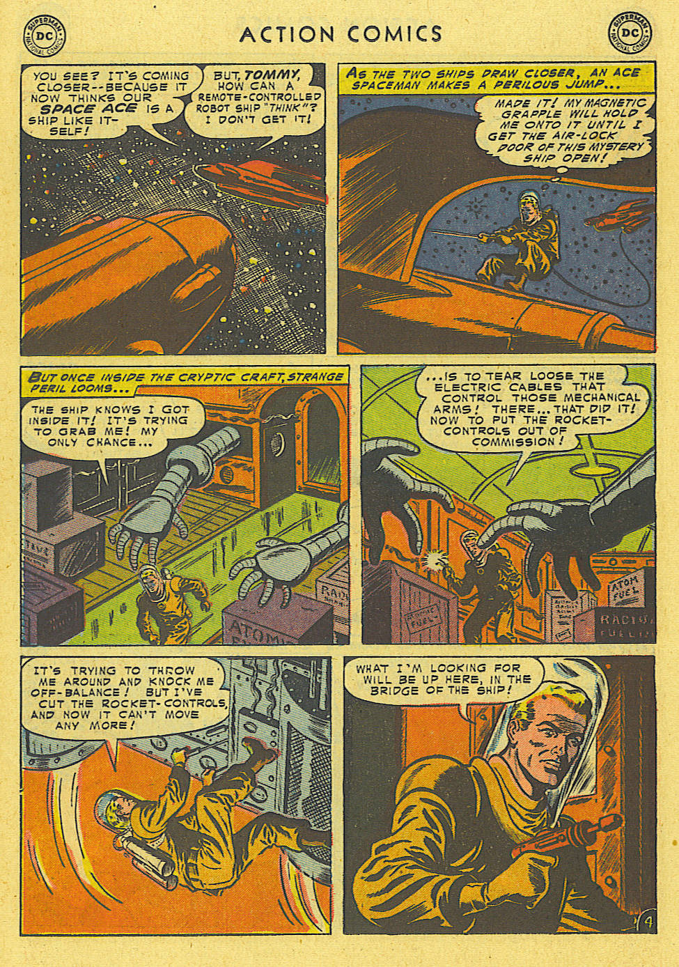 Read online Action Comics (1938) comic -  Issue #194 - 23
