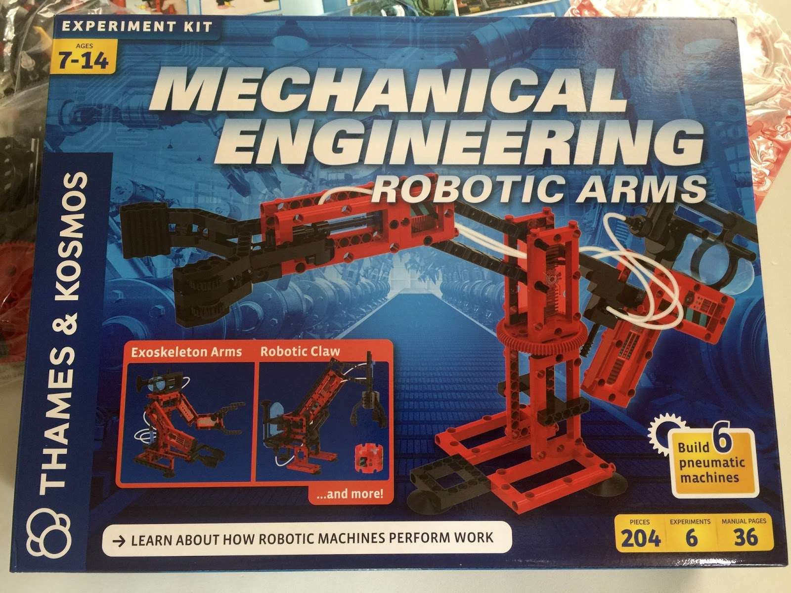 day to day MOMents Mechanical Engineering Robotic Arms Experiment