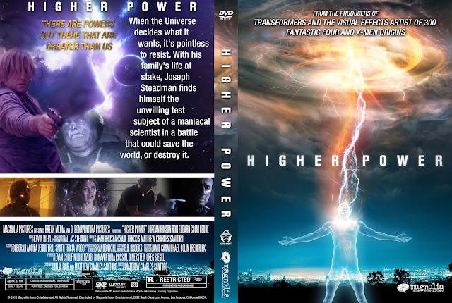 Higher Power DVD Cover