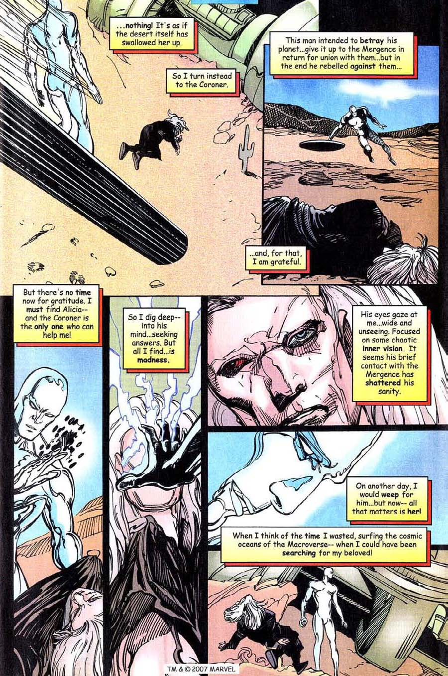 Read online Silver Surfer (1987) comic -  Issue #143 - 7