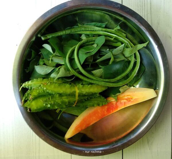sayuran untuk sayur asem