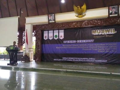 Wabup Pamekasan Beri Arahan Mahasiswa Perguruan Tinggi Islam se-Jawa Timur