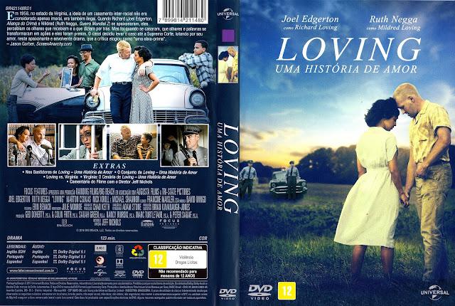 Capa DVD Loving Uma História de Amor (Oficial)