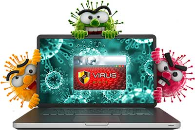 Virus - Penyebab Laptop Lambat Booting