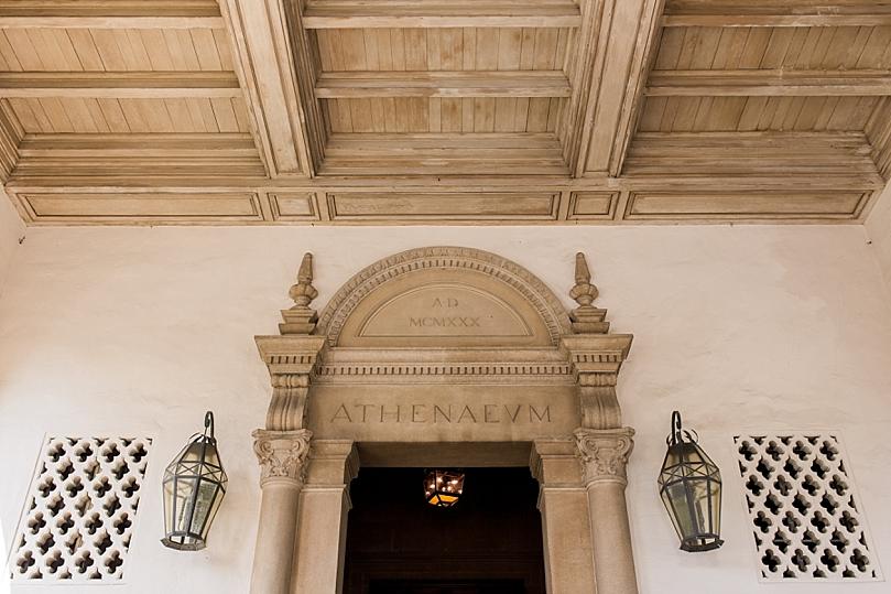 Timeless Elegant Wedding at the Athenaeum in Pasadena