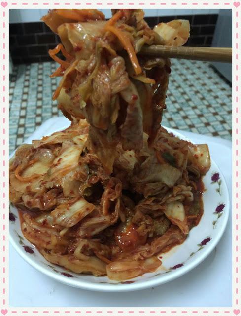 可口的韓式美食