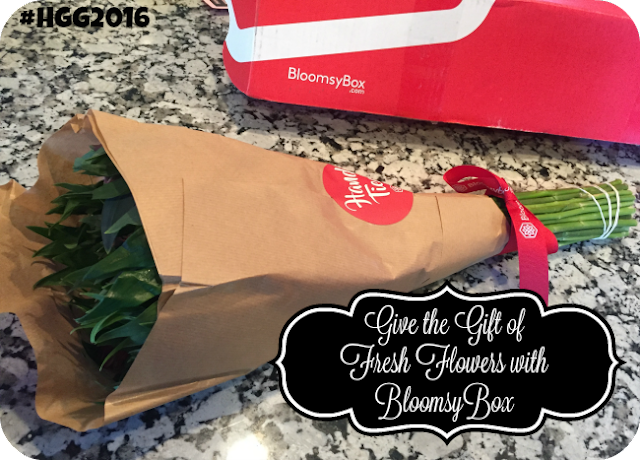 Give the Gift of Fresh Flowers with BloomsyBox #HGG2016