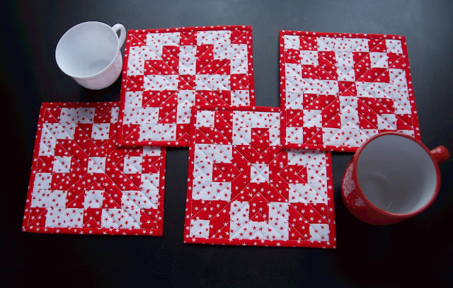 Christmas patchwork decor